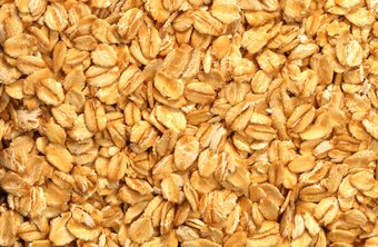 Oats are a high-fiber whole grain.