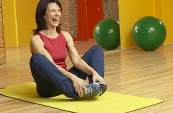 Press your elbows against your inner thighs for a great post-exercise stretch.