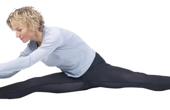 Wearing leggings, as well as stretching, helps protect your muscles.