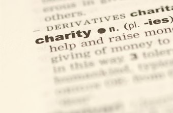 Charities raise funds to pay expenses and to help people.