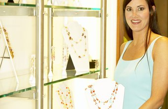 Lighting is key in jewelry displays.