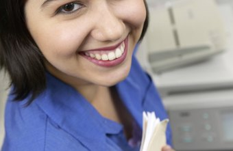 A copy machine that handles multiple tasks is a common piece of equipment for receptionists to use.