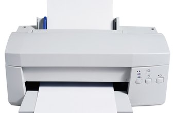 A printer producing blank sheets indicates a problem with the cartridge.