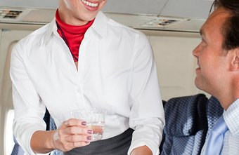 Flight attendants are required to provide excellent customer care during the flight and on the ground.