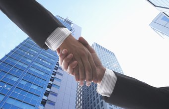 Business agreement are usually spelled out in contracts rather than orally.