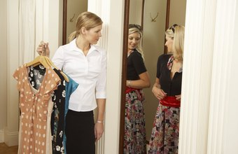 Fitting room attendants can deter shoplifters.