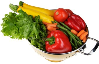 Vegetables are low in calories and can help prevent you from gaining more body fat.