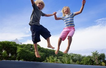 Trampolining improves balance and coordination while improving your cardiovascular health.