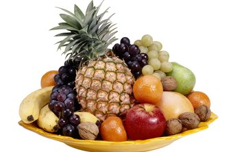 Fruits contain filling fiber and are typically low in calories.