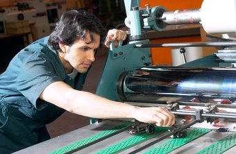 Mechanical engineering technologists often work in a manufacturing plant.