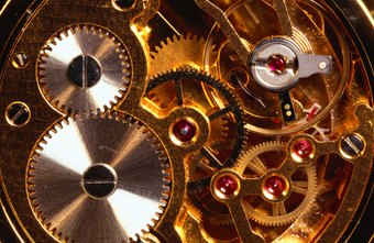 Watchmakers must be highly skilled to correctly assemble complex watch movements.