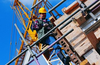 Scaffold builders create and tear down scaffolds for buildings and ship structures.