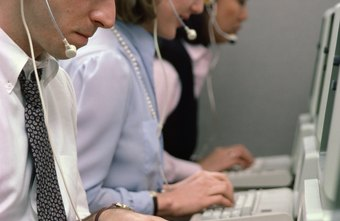 Answering service operators often wear headsets, keeping their hands free during calls.