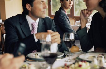 Business meals can be tax-deductible.