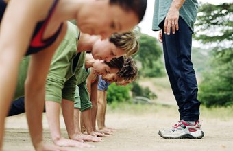 Spice up your group strength workouts with games.