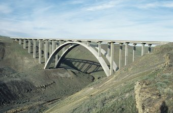 Bridges are one structure civil engineers commonly develop.