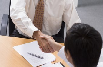 In some cases, a hiring manager may make an immediate job offer.