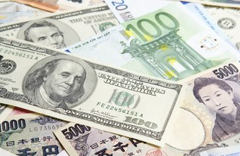 Foreign Exchange Markets And Currencies From Countries Around The World