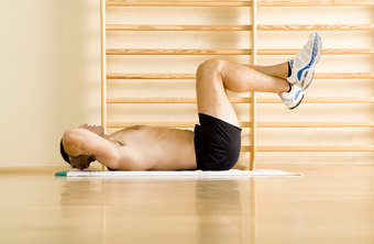 Reverse crunches can effectively strengthen your abs.
