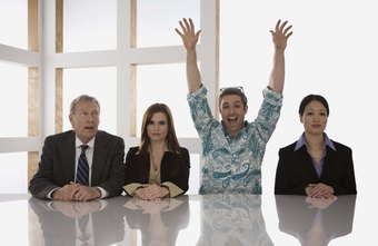 Four personality types generally make up the business community.