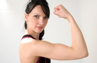 Toned triceps and biceps help prevent upper arm jiggle.