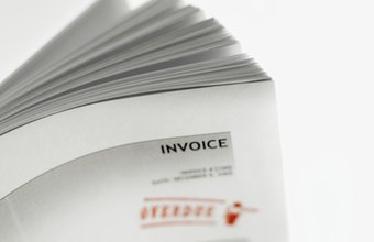 How To Create A TwoPage QuickBooks Invoice Template Chroncom - Quickbooks invoice envelopes