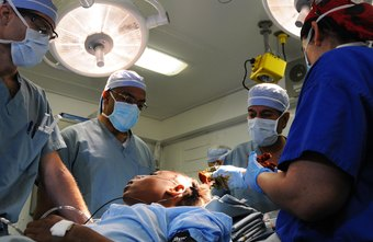 After a natural disaster, neurosurgeons treat victims with head and spinal injuries.