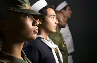 With the exception of combat, women and men perform similar jobs in the military.