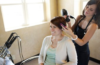 Hair stylists often receive tips.
