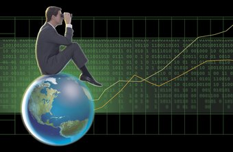 Financial analysts assess global economic trends to make investment decisions.