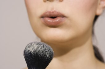 Beauty advisors are a reflection of the cosmetics lines they sell and are often encouraged to wear the products.