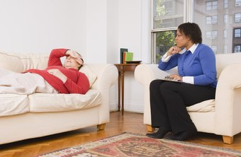 Counseling psychologists often ask patients questions to identify problems.