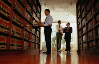 Both law students and lawyers spend time doing research in law libraries.