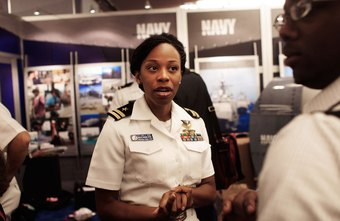 U.S. military recruiters have civilian-related human resources and public relations skills.
