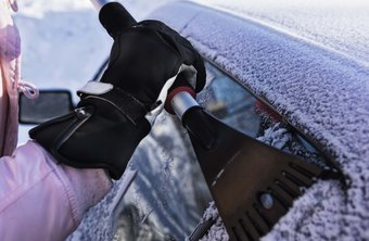 Clearing snow and ice off employee vehicles may boost morale.