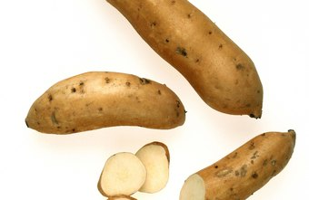 A sweet potato has a lower glycemic index than a white potato.