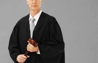 A magistrate adjudicates civil and low-level criminal cases.