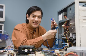 Computer hardware engineers design new types of computer equipment.