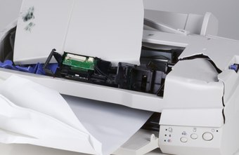 Avoid making contact with any metal or electrical parts inside the printer.
