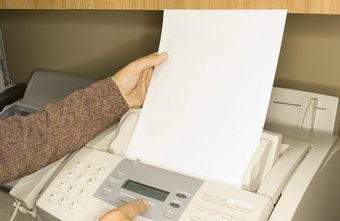 what to include in a fax header chron com