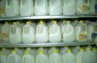 Most supermarkets stock whole, 2 percent, 1 percent and fat-free milk.