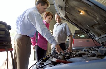 Auto electricians solve problems with vehicle electrical systems.