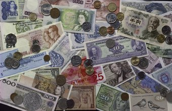 Foreign currency values fluctuate with the fortunes of their national economies.
