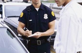Police often interview witnesses at the scene of an accident.