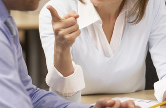 Avoid getting drawn into an argument with a confrontational employee.