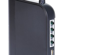 Routers with two antennas offer greater signal coverage.