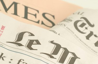 Newspapers were once the premier medium for advertising.
