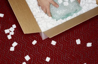 Eco-friendly packing materials reduce the amount of material in packaging.