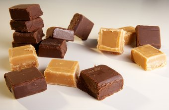 People love to munch while walking around flea markets, making fudge a fun item to sell.