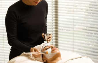 Facials are one of the services performed by estheticians.
